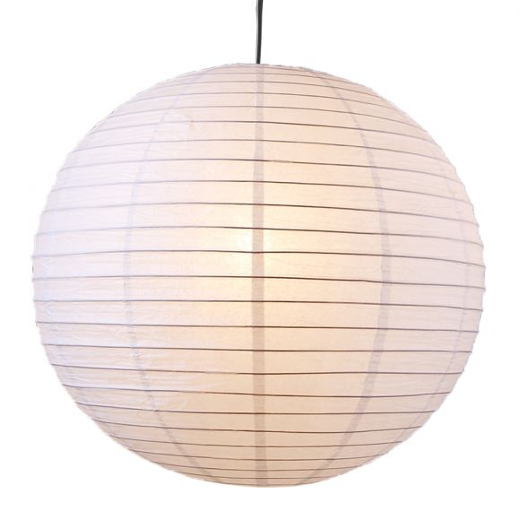 LHG Pendelleuchte, Japankugel, weiß, D 40 cm, inkl. Schnurpendel