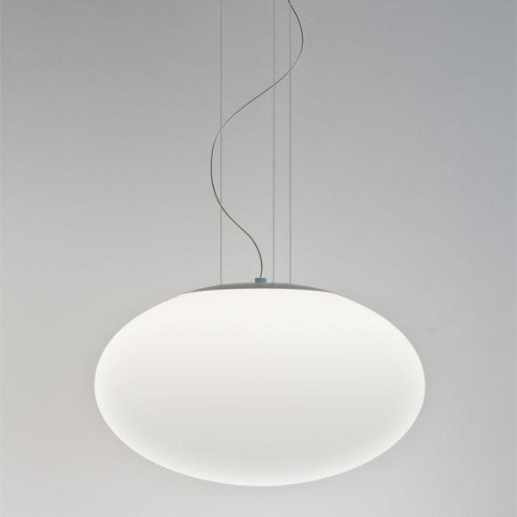 Pendelleuchte, Opalglas weiß - Ø40cm - inklusive Leuchtmittel E27 60W