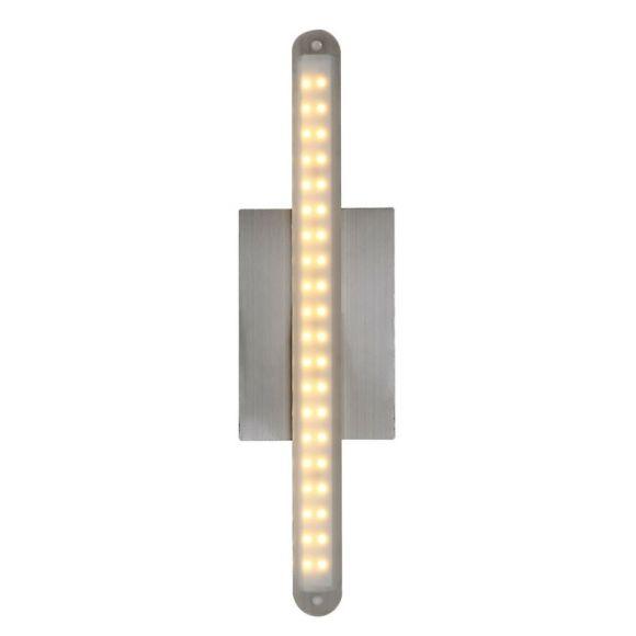 Puristische LED Wandleuchte aus verchromtem Metall mit mattem Acrylglas 1x 4 W,  260 Lumen - inklusive LED Taschenlampe