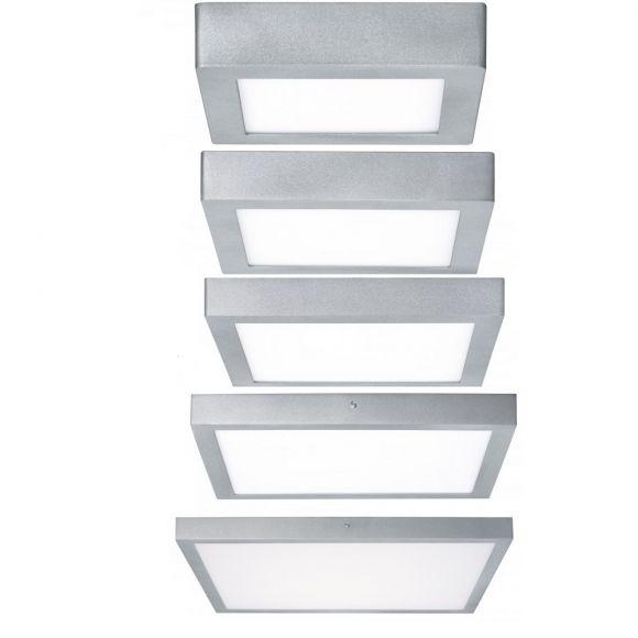 Quadratisches LED-Panel, 17cm o. 22,5cm o. 30cm o. 40 cm o. 60cm