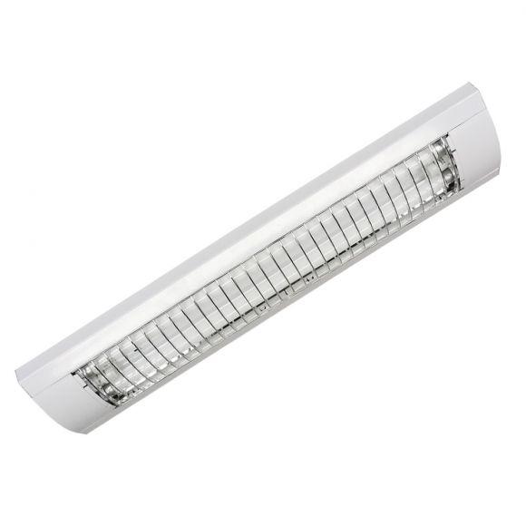 LHG Rasterleuchte in Silber oder Weiß - Breite = 73,5cm