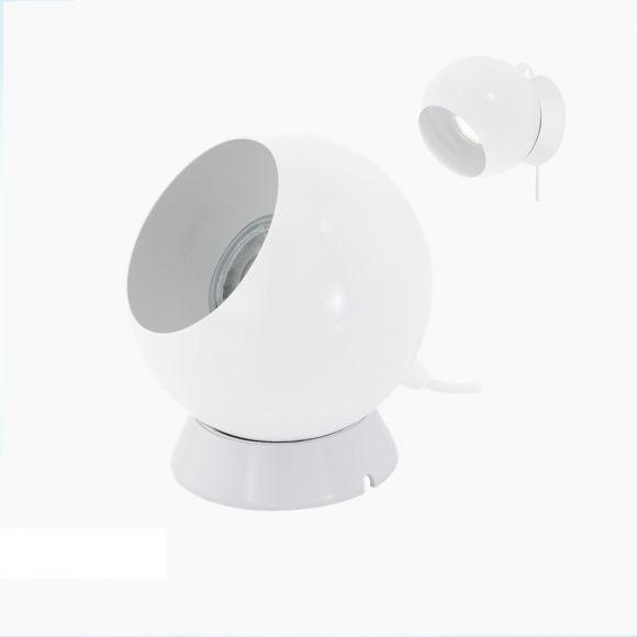 Retro-Stil LED-Leuchte weiß, 3,3Watt LED, schwenkbar