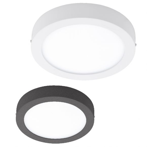Runde LED Außenleuchte Ø 22,5cm