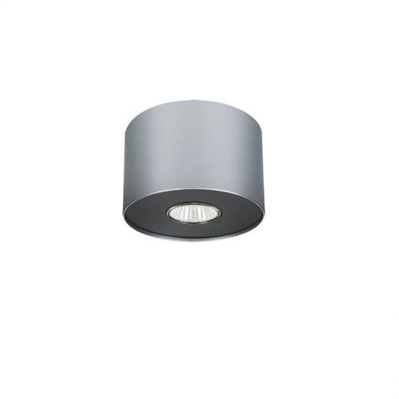 Rundes Downlight Point Silver in Silber/graphite - 3 Größen