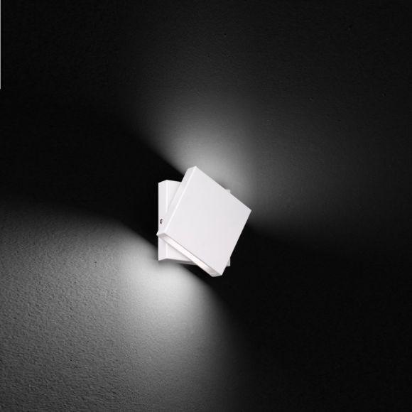 Schwenkbare LED-Wandleuchte in 2 Farben - drehbar