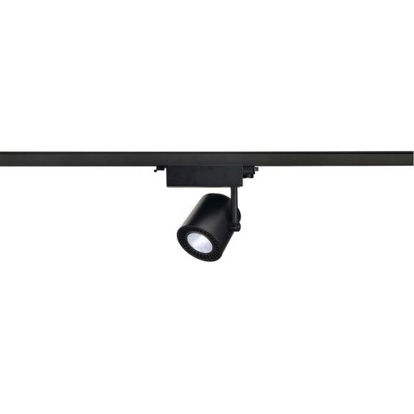 S.L.V. 3-Phasen LED Strahler Suprosin schwarz, 4.000 Kelvin