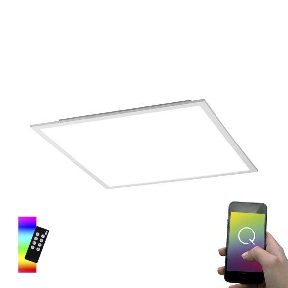 Smart Home LED-Panel Q-Flag weiß 45 x 45cm