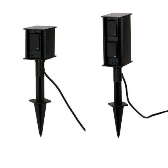 Steckdosenspieß   mit 2 oder 4 Steckdosen