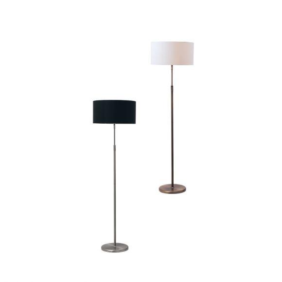 stehleuchte h henverstellbar mit stoffschirm 4 versionen wohnlicht. Black Bedroom Furniture Sets. Home Design Ideas