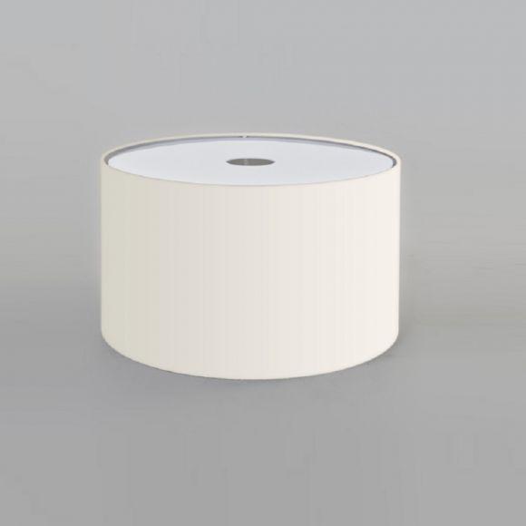 Stoffschirm Weiß für E27 Fassung