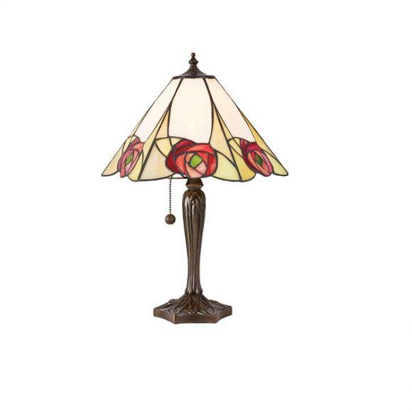 Tischleuchte Ingram im Tiffany Stil - mittlere Größe