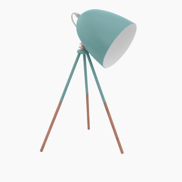 Tischleuchte im Retro-Design  - Mint