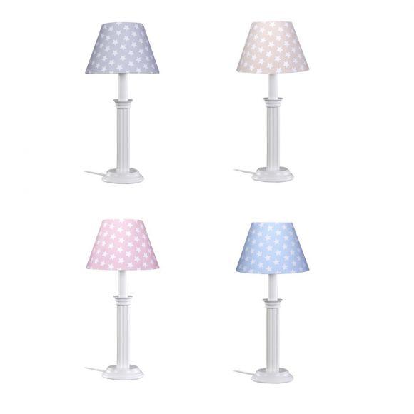 Tischleuchte Sternchen in vier Farben erhältlich