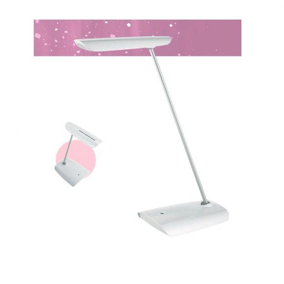 Tischleuchte in Weiß mit innovativer LED - Technik