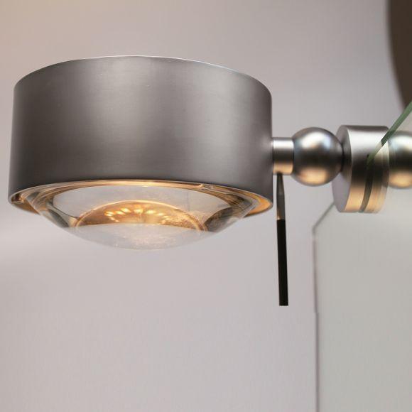 Top Light LED Spiegelleuchte Puk Maxx Fix >>+<< Nickel matt
