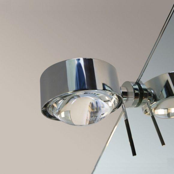 Top Light LED-Spiegelklemmleuchte Puk Fix »+« drehbar