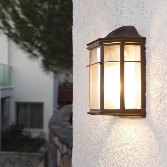 LHG Wandlampe Landhausstil für den überdachten Außenbereich