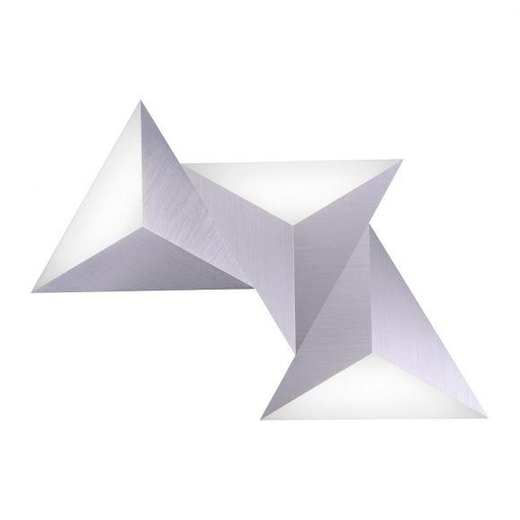 LED Wandleuchte Q-Tetra, Smart Home, Fernbedienung