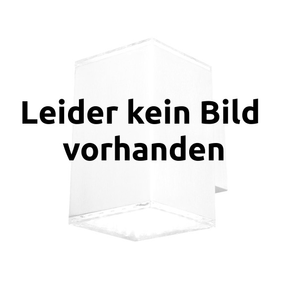 LED-Kugelleuchte transparent IP44, 25 cm mit Erdspiess