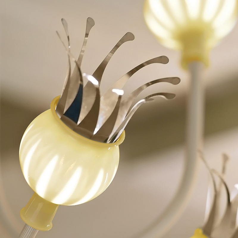 Serien-Lighting 1-flg Wandleuchte Poppy Arm beige
