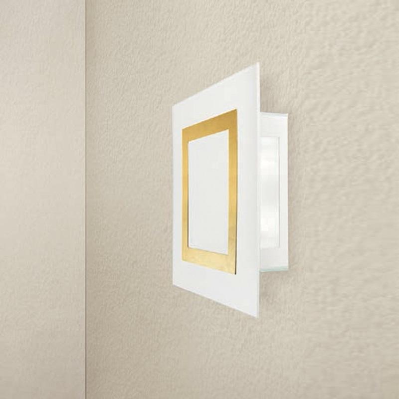 Attraktive LED-Wandleuchte mit hohem Lichtoutput - 19 Watt, 80 Lumen/Watt