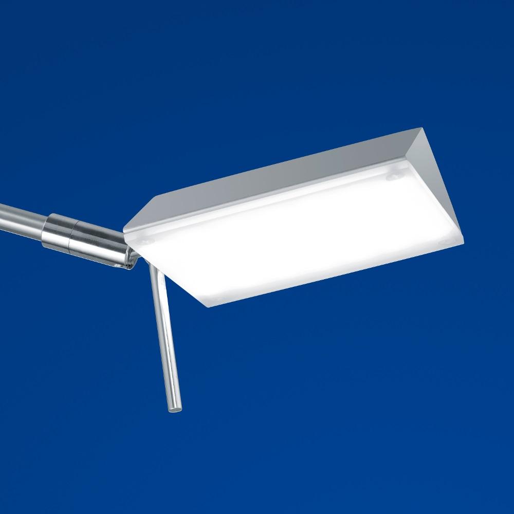B-Leuchten LED-Leseleuchte Sitten in silber