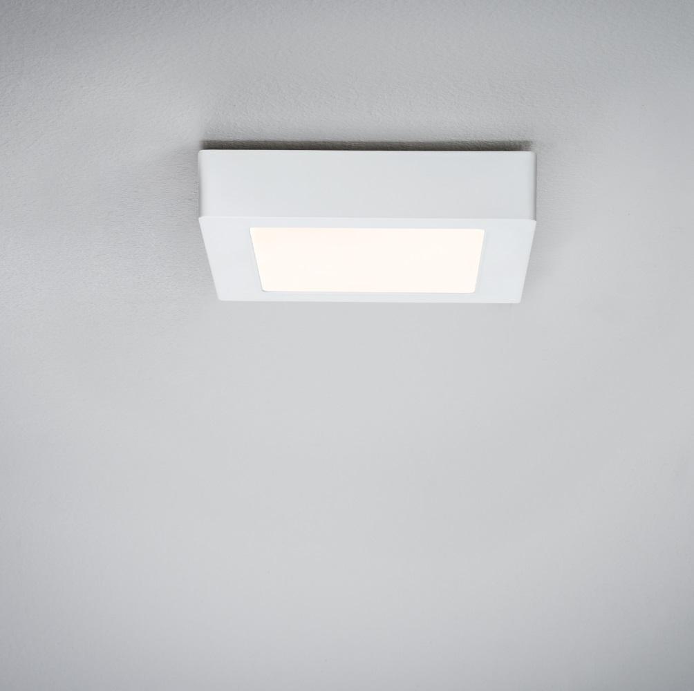 deckenleuchte lunar led panel wei eckig wohnlicht. Black Bedroom Furniture Sets. Home Design Ideas