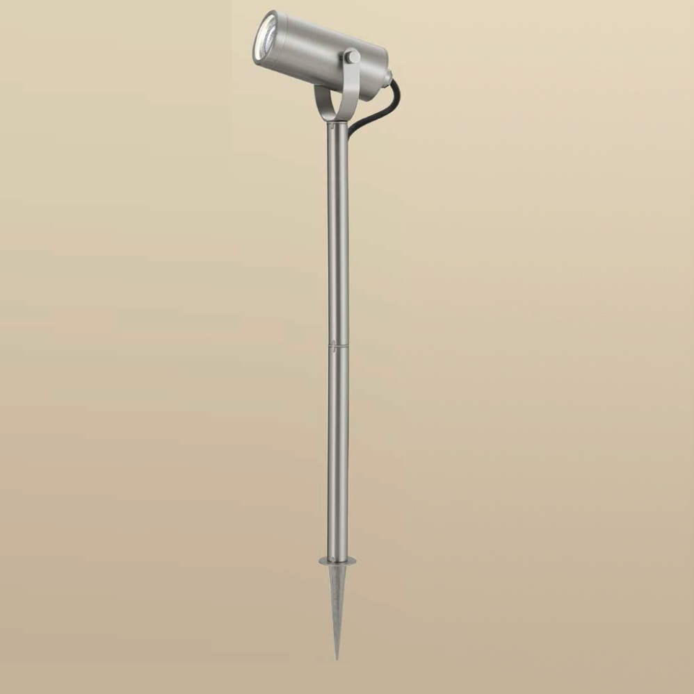 Edelstahl LED-Erdspießstrahler, schwenkbar