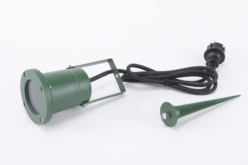 LHG Erdspieß-Strahler, schwenkbar, Gartenleuchte, inkl. GU10 35W, 2 Farben