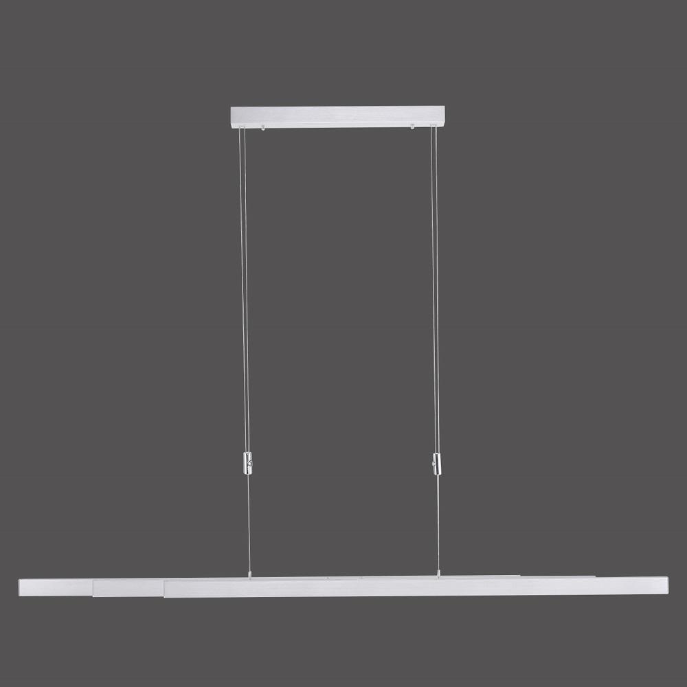 höhenverstellbare Aluminium LED Pendelleuchte, ausziehbar mit Touchdimmer und CCT-Farbtemperatursteuerung 3x14W 4950Lumen