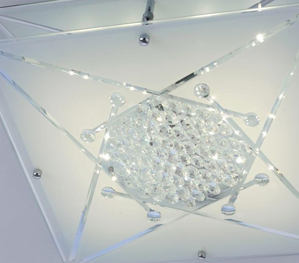 kristall led deckenleuchte wada wohnlicht. Black Bedroom Furniture Sets. Home Design Ideas