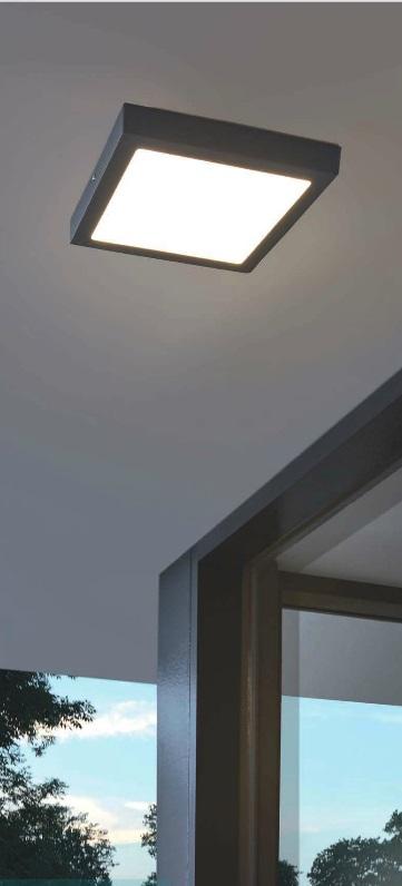 LED Außenleuchte Argolis für Wand oder Decke