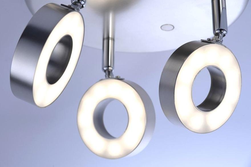 LED Deckenleuchte Ø 33cm Lukas - 3 flammig