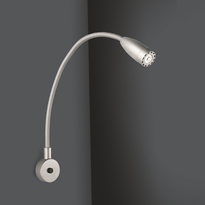LED Flexarmwandleuchte 2,3W 3000K