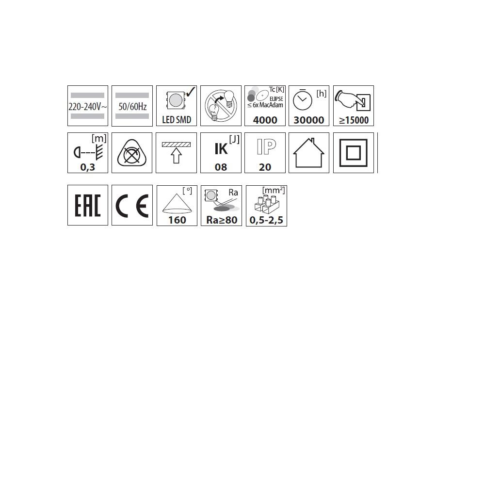 LED Linien-Beleuchtungsfassung, Unterbau, Aluminium, drei Varianten