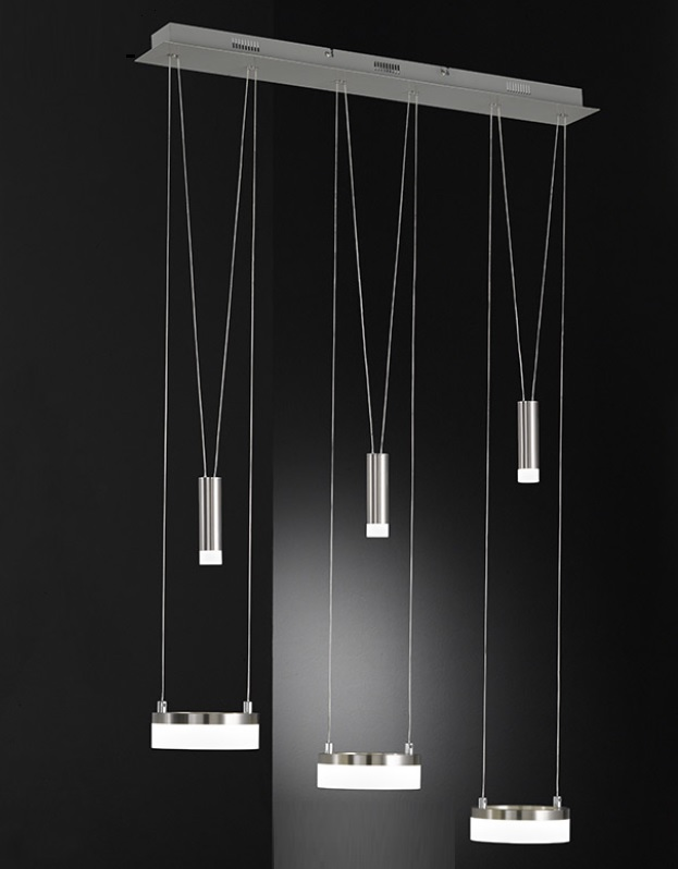 LED Pendelleuchte Jette 6-flammig dimmbar