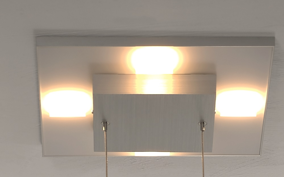 LED Pendelleuchte Slight aus Aluminium