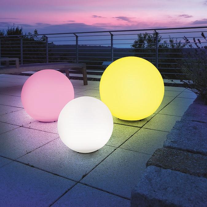 LED Solar Leuchtkugel Mega-Balls, Ø 40 cm