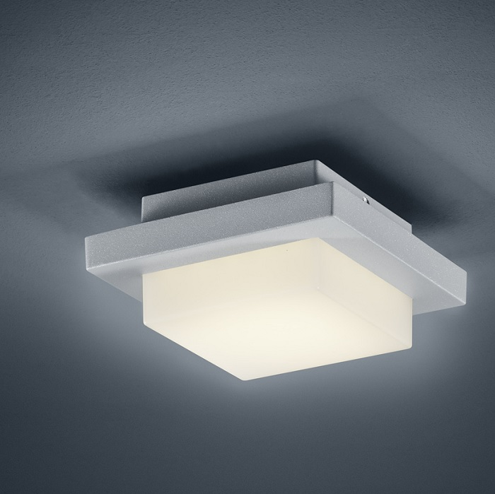 LHG LED-Außen-Wandleuchte titan - Inklusive LED 3,5 Watt