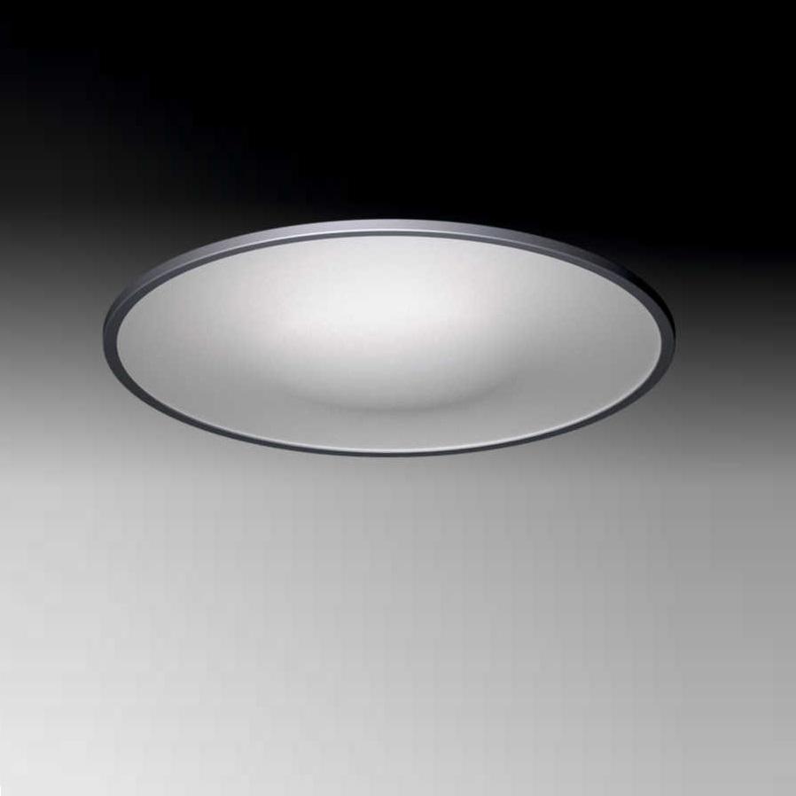 LED-Deckenleuchte aus Aluminium mit UV- beständigem Kunststoffglas Ø 30cm