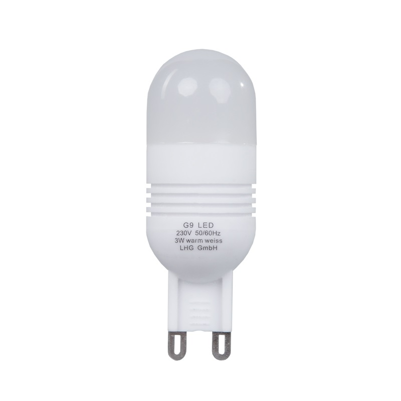 LED, G9, 3 Watt, 2700K warmweißes Licht