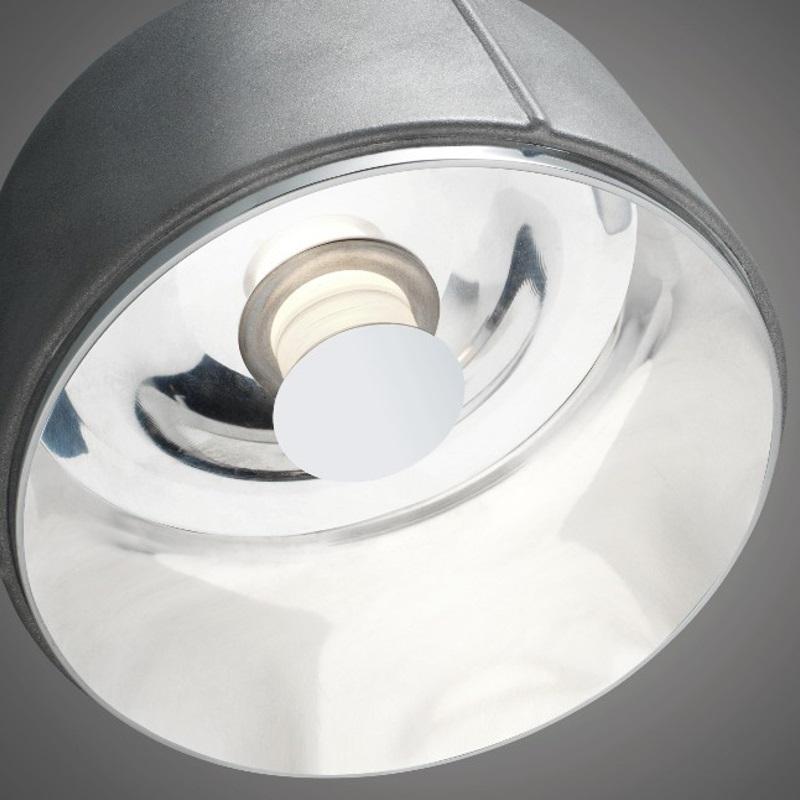 LED-Pendelleuchte Arumi Aluminium, D=14cm, LED warmweiß, dimmfähig