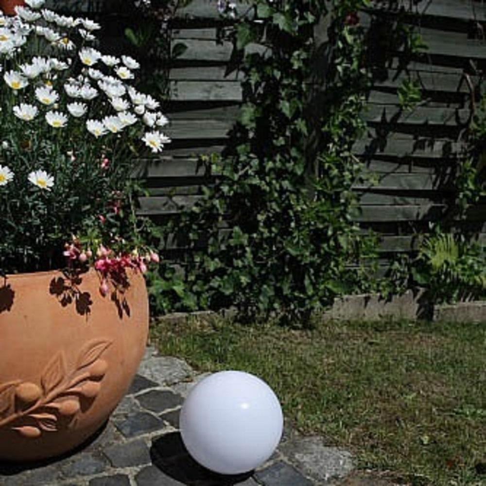 LHG Kugelleuchte, Gartenlampe, D = 20 cm, ohne Kabel, dekorativ
