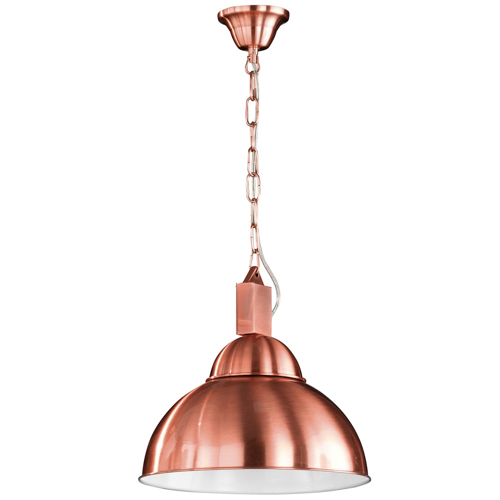 Pendelleuchte Copper aus Metall in Kupfer matt