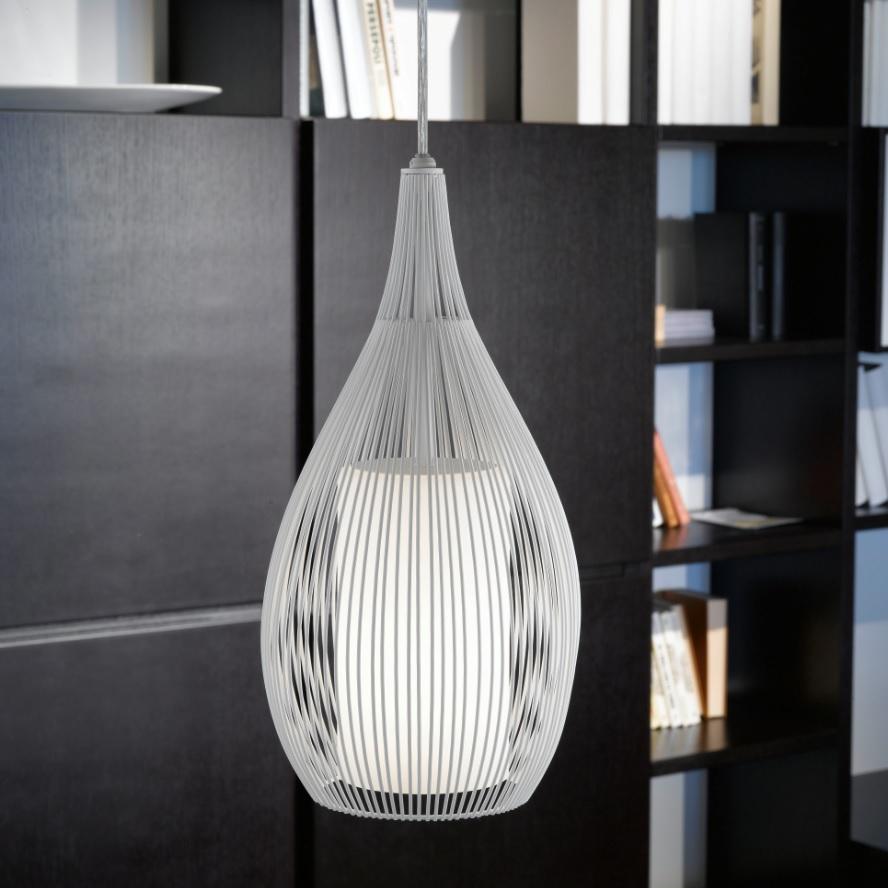 Pendelleuchte, Schwarz, LED geeignet, modern