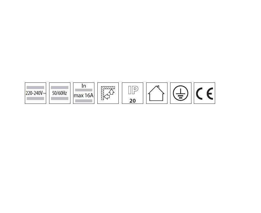 3 Phasen Hochvolt Schiene weiß 1 oder 2 Meter Länge