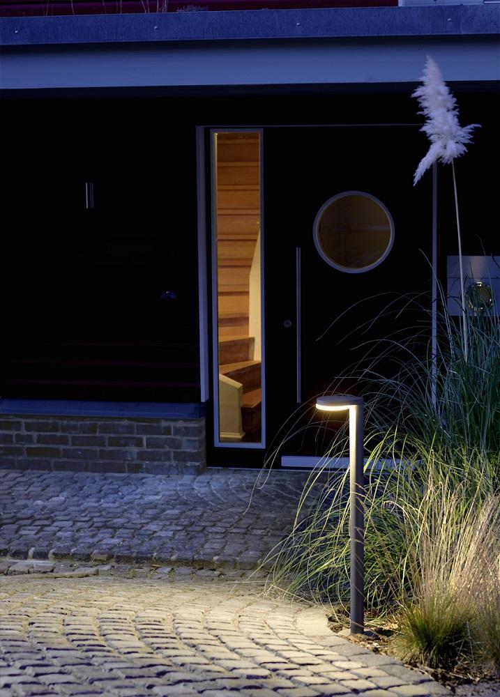 Stilvolle LED-Wegeleuchte in verschiedenen Ausführungen