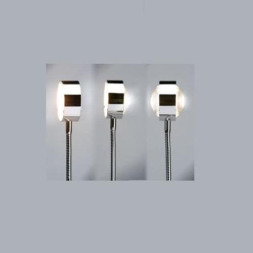 Top Light Steckerleuchte Puk Flexlight, Steckervariante schwarz