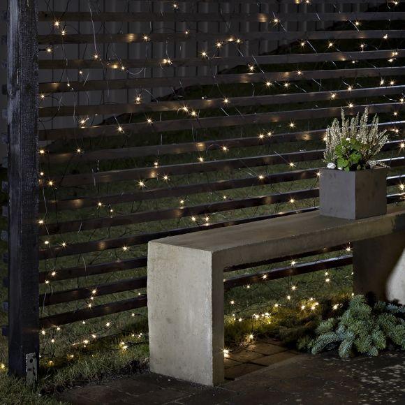 au en led lichternetz 240 dioden warmwei oder bunt wohnlicht. Black Bedroom Furniture Sets. Home Design Ideas