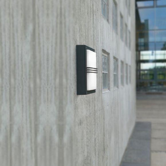 Außen-Wandleuchte Nordkapp, 2x G24q-3 26W, 3 Farben